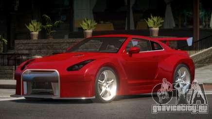 Nissan Skyline GTR V1.3 для GTA 4
