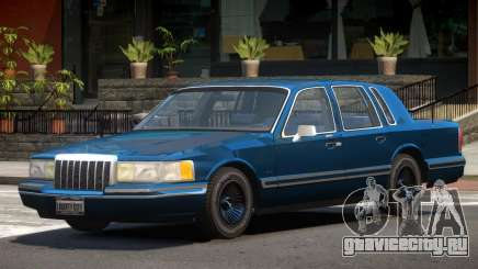Lincoln Towncar ST для GTA 4