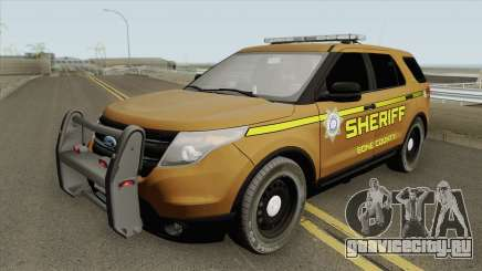 Ford Explorer 2012 (Bone County Sheriff) для GTA San Andreas