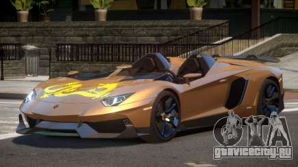 Lamborghini Aventador J V1.1 для GTA 4