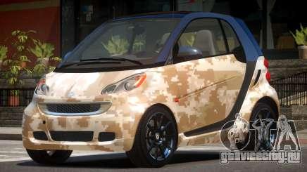 Smart ForTwo RS PJ3 для GTA 4