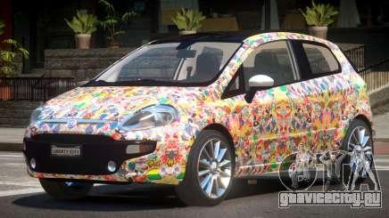 Fiat Punto RS PJ5 для GTA 4