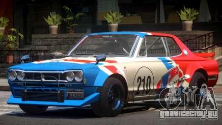 Nissan Skyline GT Qz PJ1 для GTA 4