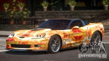 Chevrolet Corvette ZR1 LS PJ5 для GTA 4