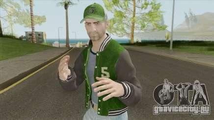 PUBG Male Skin (Varsity Jacket Outfit) для GTA San Andreas
