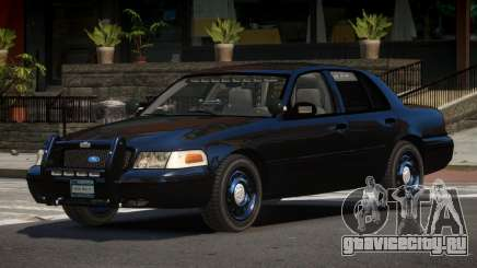 Ford Crown Victoria BE Police V1.1 для GTA 4