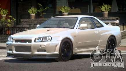 Nissan Skyline R34 E-Style для GTA 4