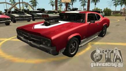 Дуклавсе Сейбр ГТ-Турбо (VehFuncs-значки-дополнительно) для GTA San Andreas