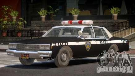 1985 Chevrolet Impala Police для GTA 4