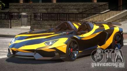 Lamborghini Aventador Spider SR PJ5 для GTA 4