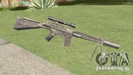 G3SH1 Silenced для GTA San Andreas