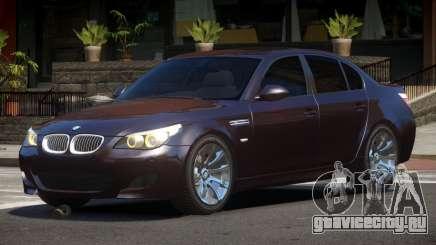 BMW M5 E60 Custom для GTA 4