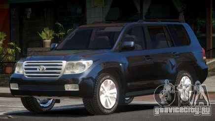 Toyota Land Cruiser 200 LS для GTA 4