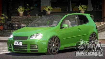 Volkswagen Golf GTI V2.2 для GTA 4
