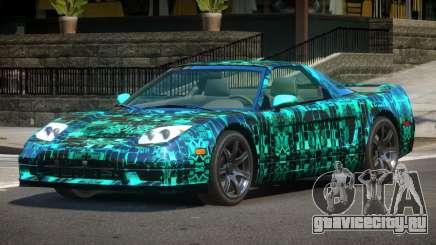 Acura NSX GT PJ2 для GTA 4