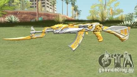 AK-47 (Knife Iron Beast) для GTA San Andreas