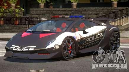 Lamborghini SE Police V1.1 для GTA 4