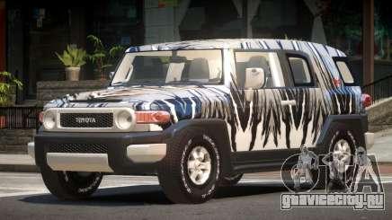 Toyota FJ Cruiser ST PJ1 для GTA 4