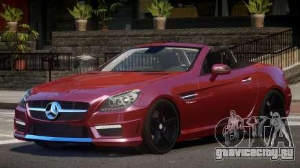 Mercedes Benz SLK RS для GTA 4