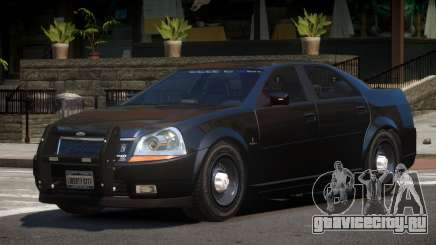 Albany Presidente FBI V1.0 для GTA 4