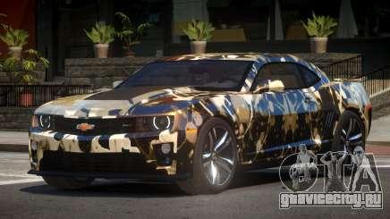 Chevrolet Camaro ZL1 V2.1 PJ5 для GTA 4