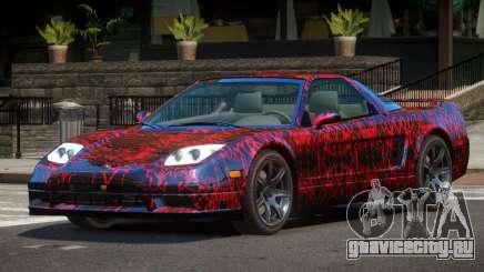 Acura NSX GT PJ1 для GTA 4