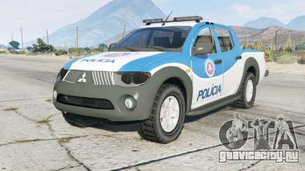 Mitsubishi L200 Polícia Militar для GTA 5