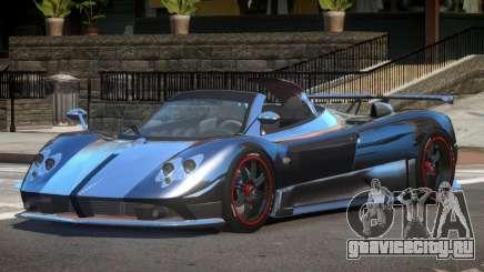 Pagani Zonda SR Spider для GTA 4