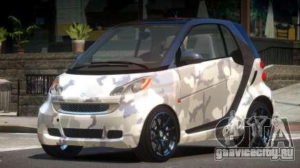 Smart ForTwo RS PJ2 для GTA 4