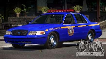Ford Crown Victoria NYS Police для GTA 4