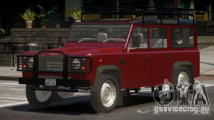 Land Rover Defender V1.0 для GTA 4