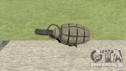 F1 Grenade (Red Orchestra 2) для GTA San Andreas