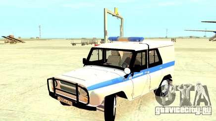УАЗ Полиция 31512 для GTA 4