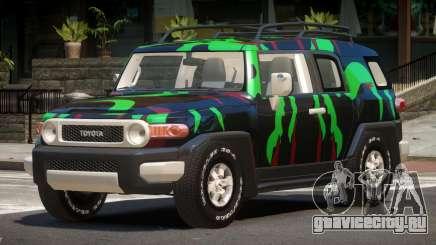 Toyota FJ Cruiser ST PJ5 для GTA 4