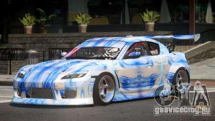 Mazda RX-8 V1.1 PJ1 для GTA 4