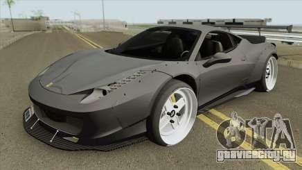 Ferrari 458 (LB-WALK) для GTA San Andreas