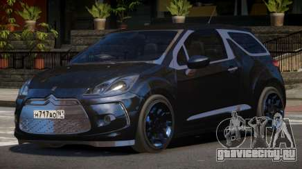 Citroen DS3 RS для GTA 4