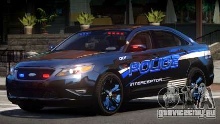 Ford Taurus Police V1.2 для GTA 4