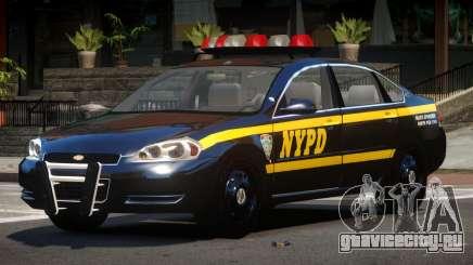 Chevrolet Impala LS Police для GTA 4
