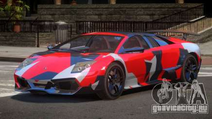 Lamborghini Murcielago LP-670 PJ2 для GTA 4
