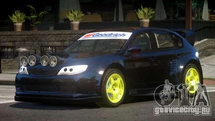 Subaru Impreza WRX STI V8 для GTA 4