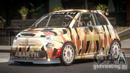 Fiat 500 L-Tuned PJ5 для GTA 4