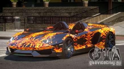 Lamborghini Aventador Spider SR PJ1 для GTA 4