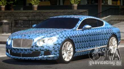 2013 Bentley Continental GT Speed PJ3 для GTA 4