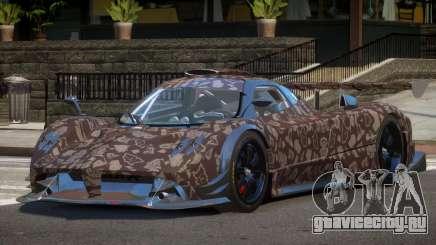 Pagani Zonda R-Tuning PJ3 для GTA 4