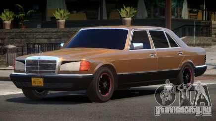 Mercedes Benz 560SEL V1.0 для GTA 4