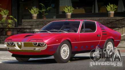 Alfa Romeo Montreal V1.0 PJ1 для GTA 4
