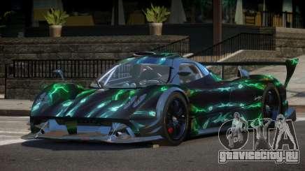 Pagani Zonda R-Tuning PJ5 для GTA 4