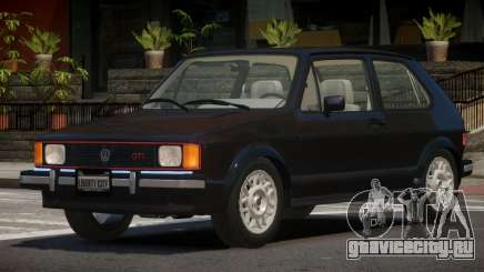Volkswagen Rabbit V1.0 для GTA 4