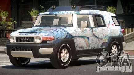 Toyota FJ Cruiser ST PJ2 для GTA 4